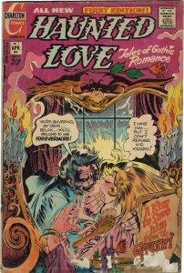 Haunted Love #1 (1973) Charlton FR