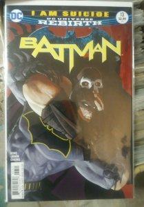 Batman # 13 2017 VOL 3 DC UNIVERSE REBIRTH  l am  suicide PT 5  BANE catwoman