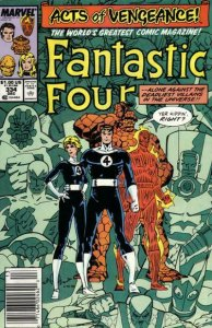Fantastic Four (Vol. 1) #334 (Newsstand) VG; Marvel | low grade comic - save on