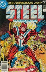 DC STEEL, THE INDESTRUCTIBLE MAN #1 FN/VF