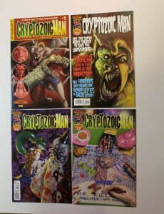 Cryptozoic Man 4 Issue Set Dynamite Comics VF/NM Or Better