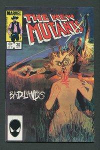 New Mutants #20 / 9.0 VFN/NM  October  1984