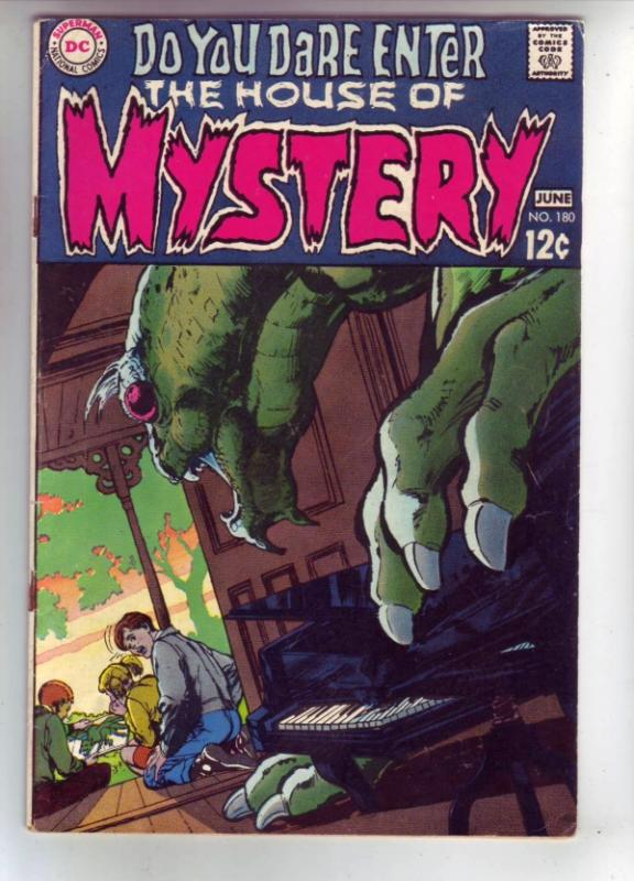House of Mystery #180 (Feb-68) FN/VF Mid-High-Grade
