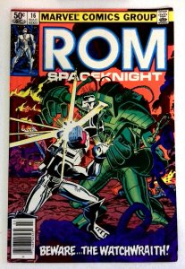 Rom #16 Marvel 1981 VF+ Bronze Age Comic Book 1st Print