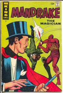 Mandrake The Magician #7-King-Brick Bradford-VG