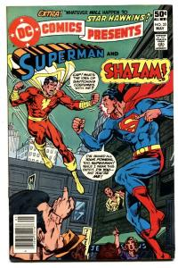 DC Comics Presents #33 comic book SHAZAM / SUPERMAN comic book 1981