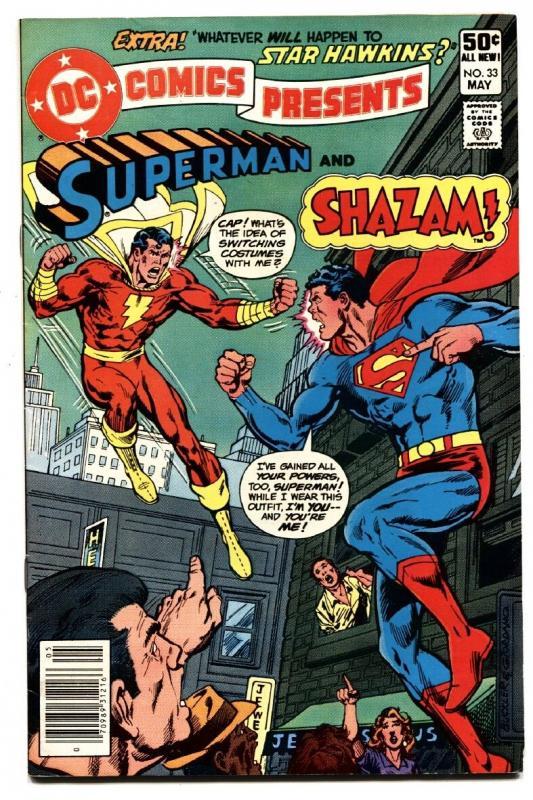 DC Comics Presents #33 comic book SHAZAM / SUPERMAN comic book 1981