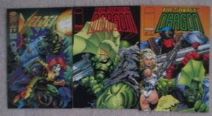 SAVAGE DRAGON #1 & #4, VELOCITY #2 - 3 Issue Lot - From Image Comics