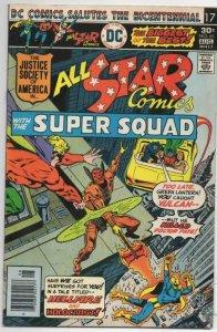 ALL-STAR COMICS #61 VF  Justice Society of America Super Squad 1976