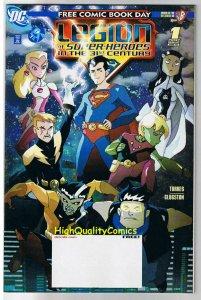 LEGION of SUPER-HEROES 31st Century, FCBD, Promo, 2007, NM