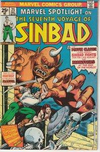 Marvel Spotlight(vol. 1) # 25 Seventh Voyage of SinBad
