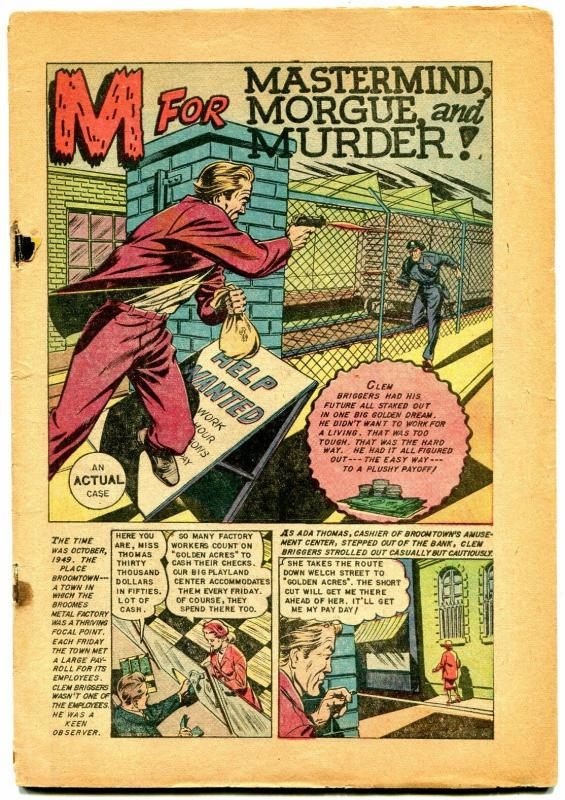 Crime Must Pay the Penalty #33 1953- Junk King drug story