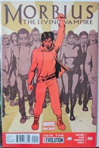 Morbius: The Living Vampire #5 (2013)