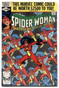 SPIDER-WOMAN #30-comic book 1st appearance of Dr. Malus