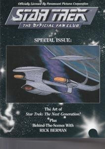 Star Trek Official Fan Club Magazine Special