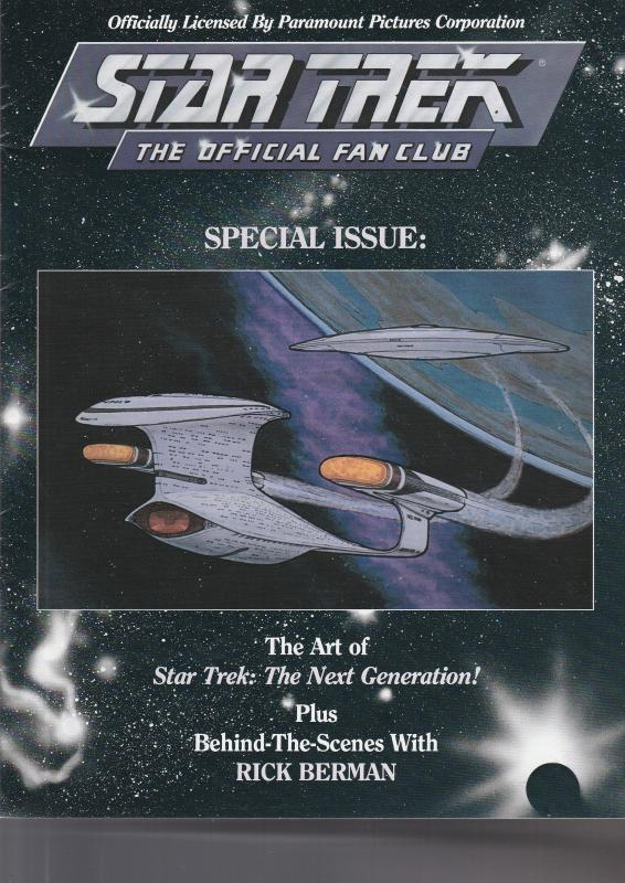 Star Trek Official Fan Club Magazine Special