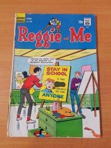 Reggie and Me #24 ~ VERY GOOD VG ~ (1967, Archie Comics)