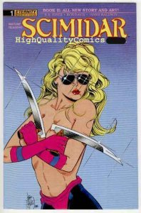 SCIMIDAR #1, Book II,  VF, Jim Balent, 1989, Baldwin,Sword,more indies in store