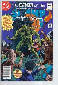 SAGA OF THE SWAMP THING #1, FN, Bernie Wrightson, DC 1982  more DC in store