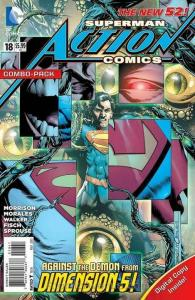 Action Comics (2nd Series) #18B VF; DC | save on shipping - details inside