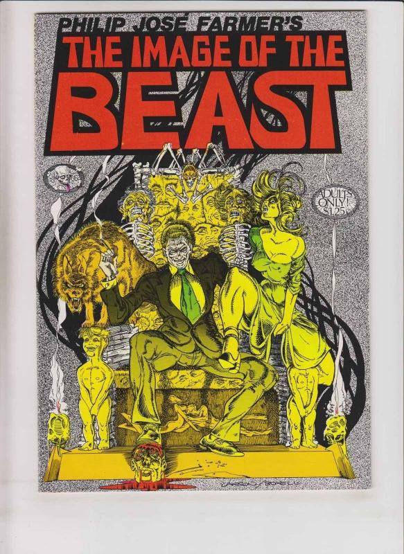 Philip Jose Farmer's the Image of the Beast #1 VF/NM (2nd) last gasp underground