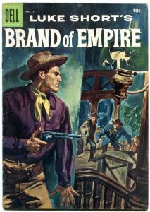 Luke Short's Brand of Empire- Four Color Comics #771 1957- Dell Western FN