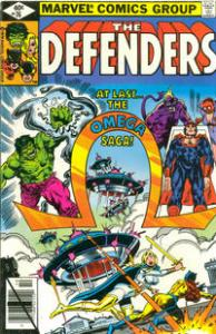 Marvel Comics The Defenders #76 Fine Omega Saga