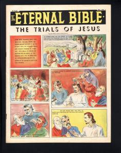 THE ETERNAL BIBLE #1-1946-VERY RARE COMIC-OVERSIZED-SOUTHERN STATES