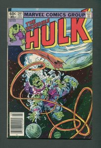 The Incredible Hulk #281 /  5.5 FN-  / Newsstand  / March  1983