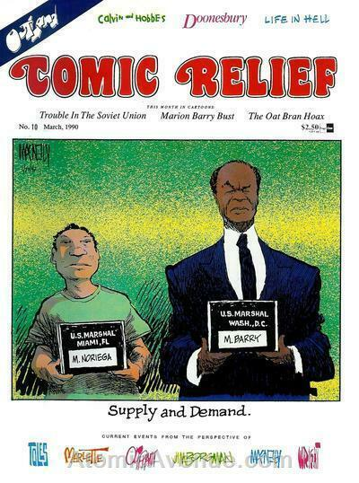 Comic Relief (magazine) #10 FN; Page One | save on shipping - details inside