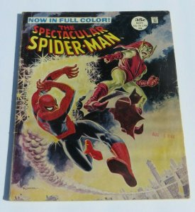 The Spectacular Spider-Man #2 VG+ 1968 Silver Age Magazine The Green Goblin