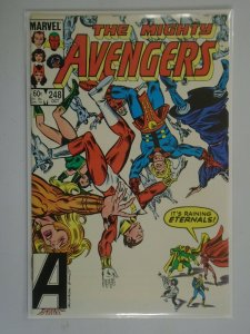 Avengers #248 featuring the Eternals Direct edition 5.0 VG FN (1984 1st Series)
