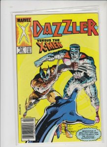 DAZZLER VS. THE X-MEN #38 1985 MARVEL / HIGH QUALITY / NEVER READ
