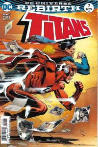 Titans (2016 series) #7, NM- (Stock photo)