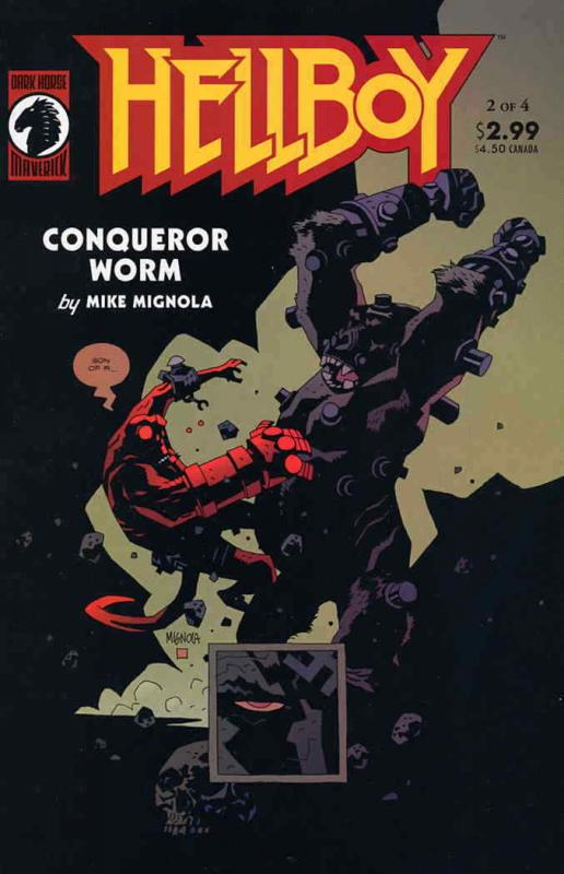 Hellboy: Conqueror Worm #2 FN; Dark Horse | combined shipping available - detail
