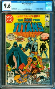 New Teen Titans #2 CGC Graded 9.6 1st Appearance of Deathstroke