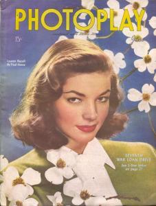 Photoplay-Lauren Bacall-June Allyson-Dana Clark-Joseph Cotton-June-1945