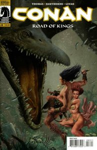 Conan: Road of Kings #3 VF; Dark Horse | save on shipping - details inside
