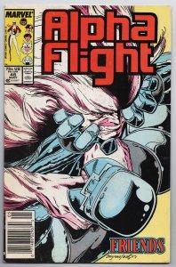 Alpha Flight #46 (Marvel, 1987) FN [ITC1060]
