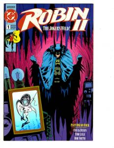 7 Robin DC Comic Books Robin II # 1 (1) (1) (1) 2 (2) Robin III # 6 Joker BH40