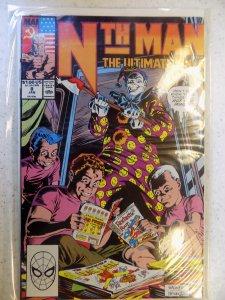 Nth Man the Ultimate Ninja #8 (1990)