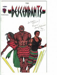 Descendants #1 FN signed by Tony Robinson - afrocentric - black hero - 1995