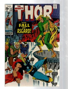 Mighty Thor # 175 VF Marvel Comic Book Loki Odin Asgard Sif Avengers Hulk RB8