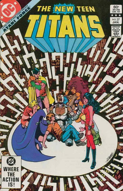New Teen Titans, The (1st Series) #27 VF/NM; DC | save on shipping - details ins