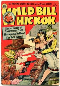 Wild Bill Hickok #11 1952- Avon Golden Age Western reading copy