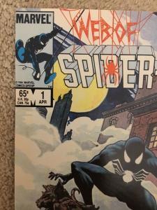 Marvel Web Of Spider-Man 1 * High Grade *
