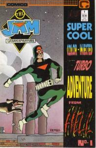 Jam: Super Cool Color Injected Turbo Adventure #1, NM + (Stock photo)