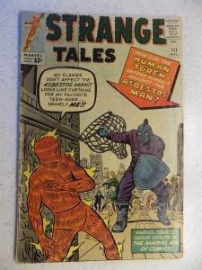 STRANGE TALES # 111 MARVEL SILVER SECOND DR. STRANGE TORCH