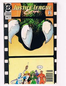 Justice League Europe #14 VG DC Comics Comic Book Giffen 1990 DE34