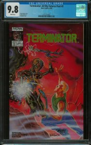 Terminator All My Futures Past #2 CGC 9.8 *--* Highest Graded *--* New  MOVIE